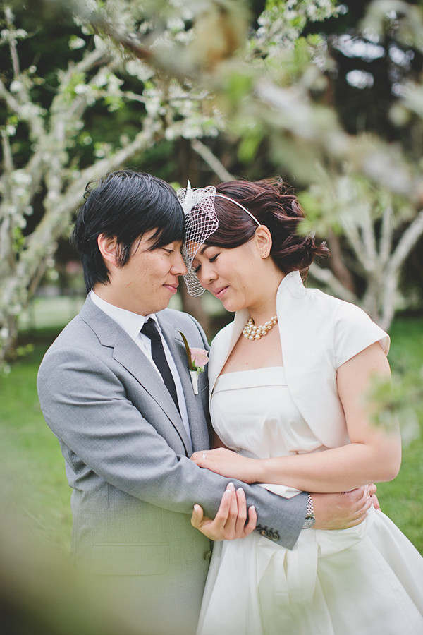 New Zealand bride and groom portrait