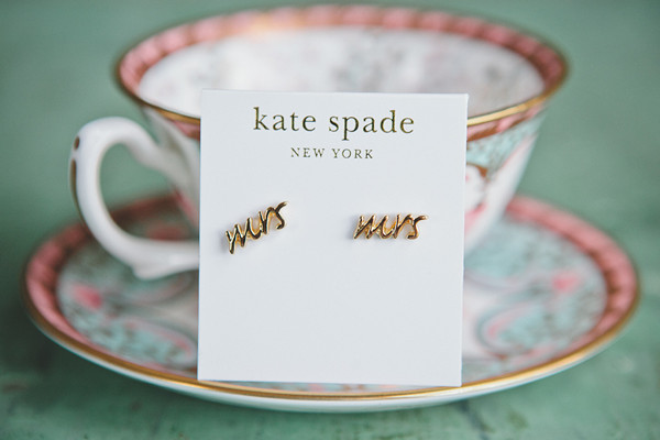 Kate Spade Mrs. earrings