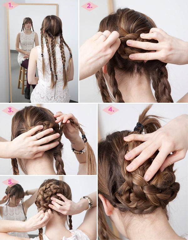 Excellent 12 Diy Braid Tutorials Great For Brides Short Hairstyles Gunalazisus