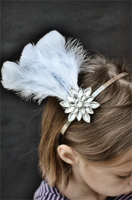 Diy Feather Headband Fascinator