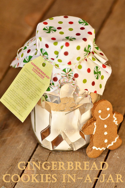 gingerbread in a jar