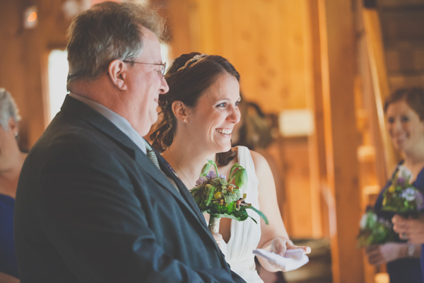 connecticut barn wedding ceremony