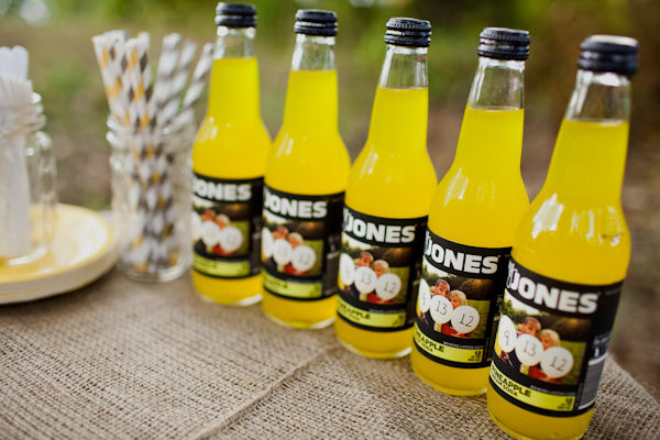 custom wedding jones soda label
