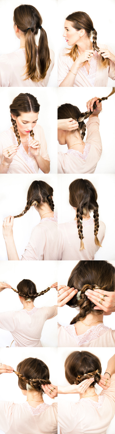 Magnificent 12 Diy Braid Tutorials Great For Brides Hairstyles For Women Draintrainus