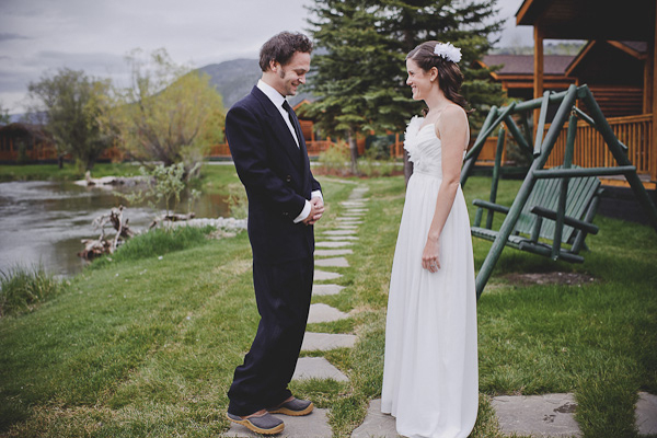 Wyoming national park elopement