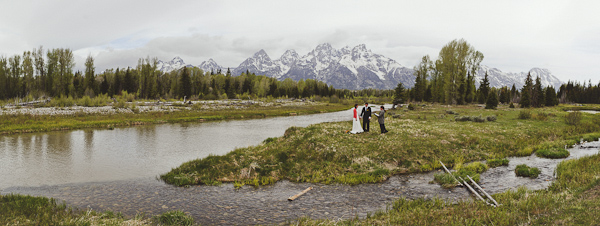 Wyoming outdoor elopement