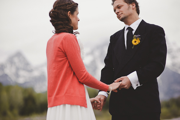National Park elopement ceremony