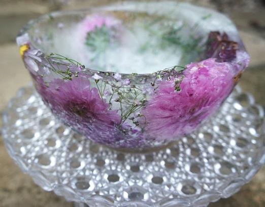 ice flower bowls