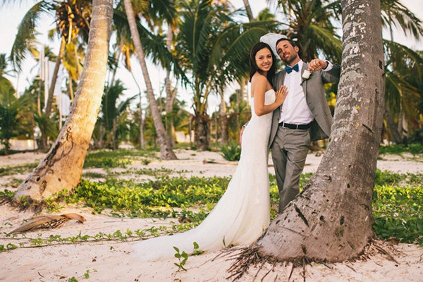 Punta Cana wedding portrait