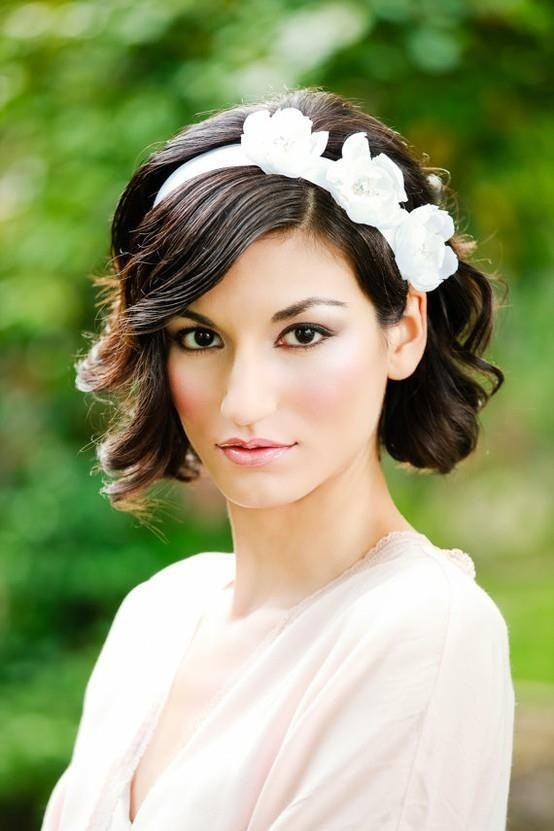 wedding hair short
