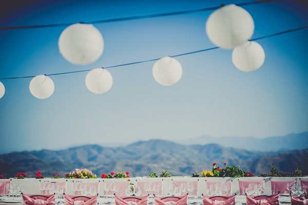 outdoor spanish vineyard wedding