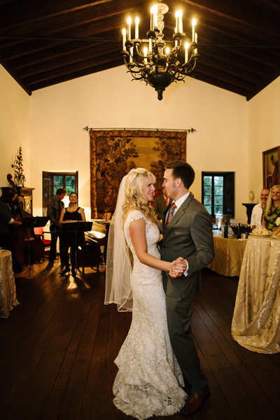 first dance at florida estate