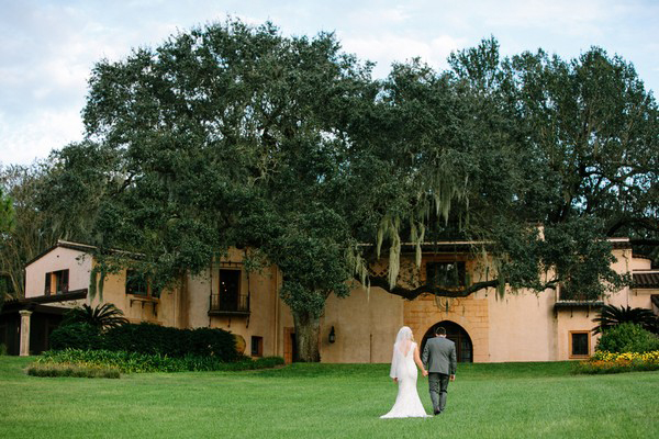 Florida estate wedding