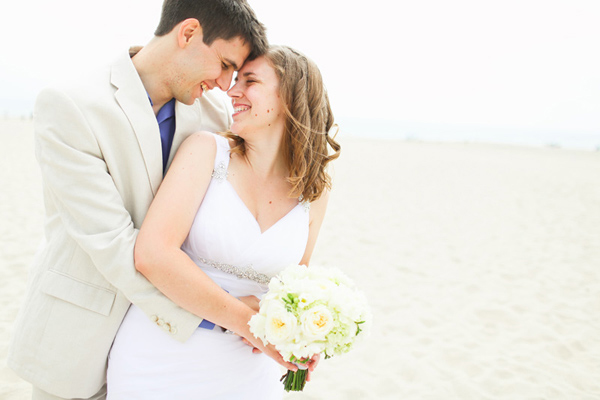 California Beachfront wedding