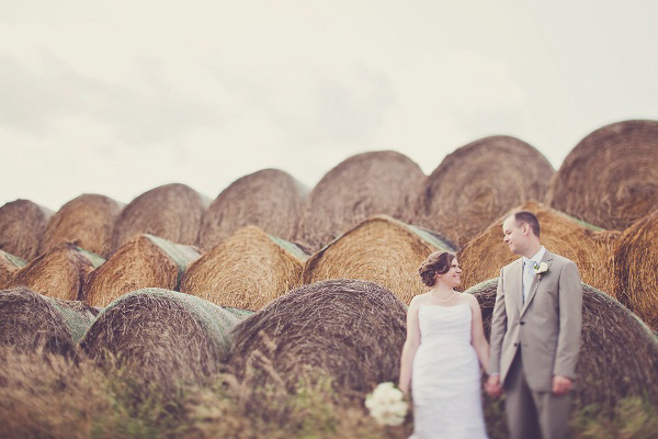 Backyard Prairie wedding