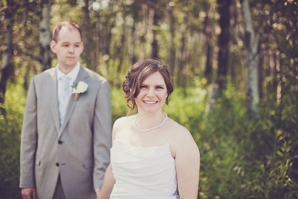 Saskatchewan wedding portrait