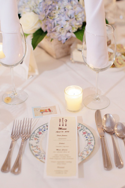 New Jersey B&B wedding reception
