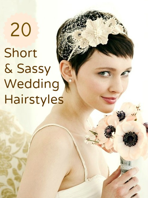 Short Wedding Hairstyles 2013