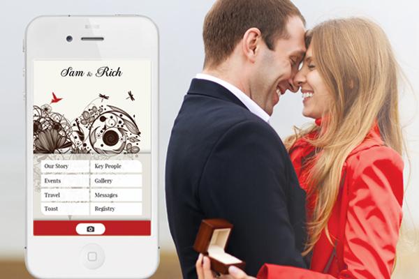 apps wedding