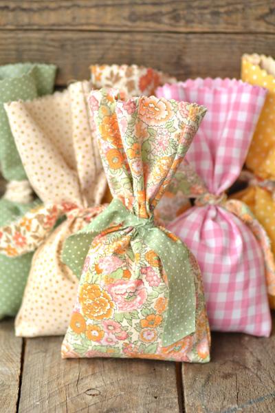 Easy No Sew Diy Favor Bags
