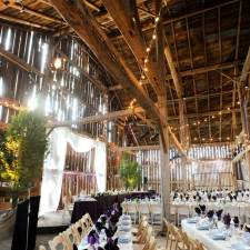 Barn Wedding Venue Reception - Caledon, Ontario, Canada