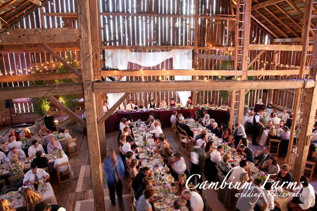 Barn Wedding Venue in Ontario, Canada
