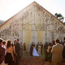 Small And Intimate Wedding Venues Farm Barn