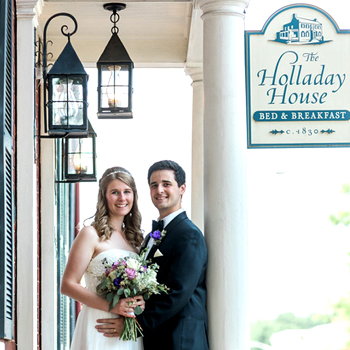 holladay house intimate wedding