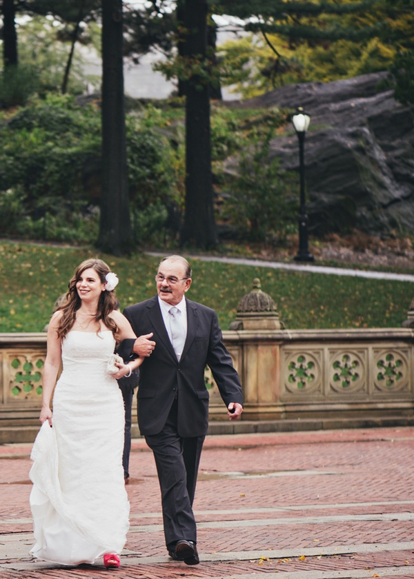 Bethesda Terrace wedding ceremony