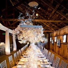 Barn Wedding Venue In Carmel Barn On Santa Lucia Preserve