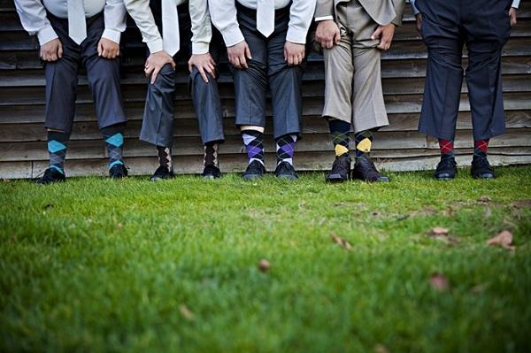 groomsmen argyle socks