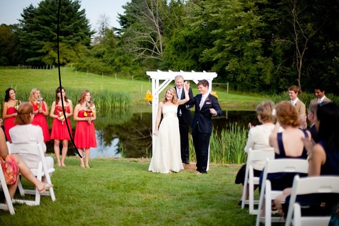intimate-wedding-ceremony-farm-wedding