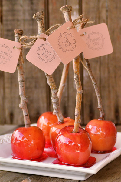 candy-apples wedding