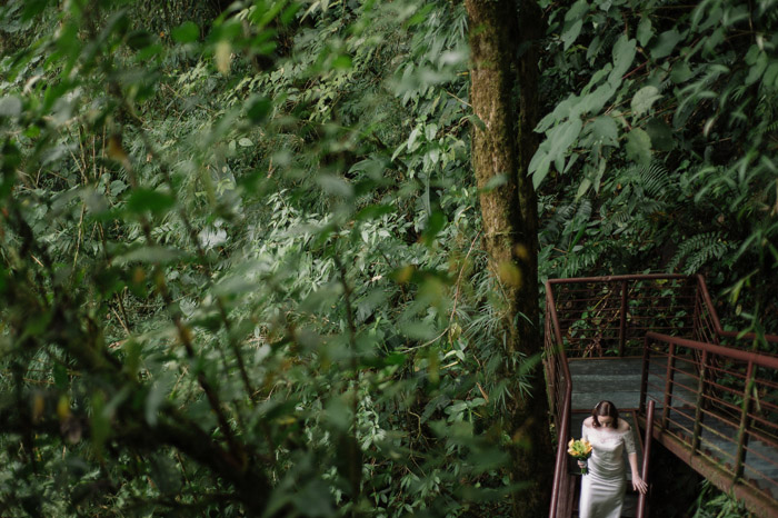 Jungle elopement