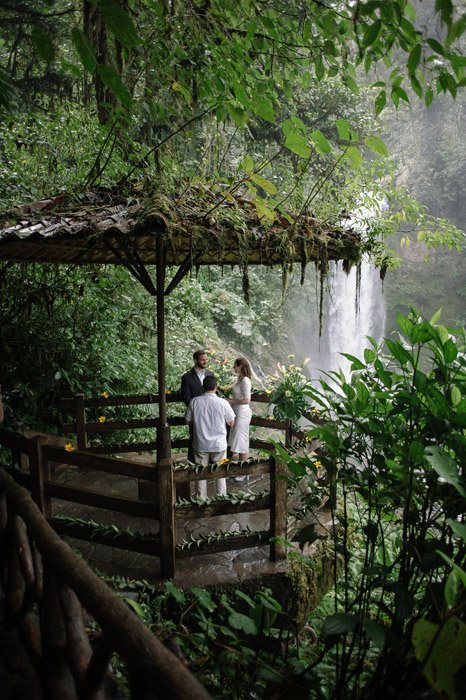 Destination Elopement At Costa Rica Wildlife Refuge