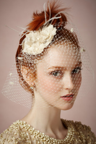 great-gatsby-wedding-birdcage-veil