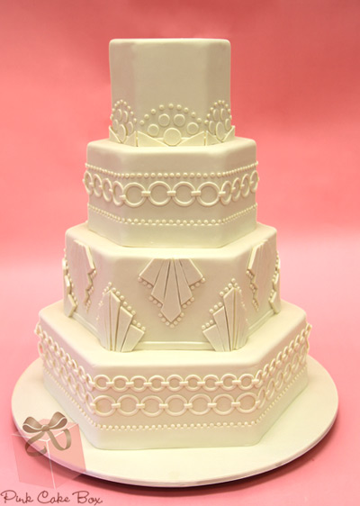 great-gatsby-wedding-cake-white
