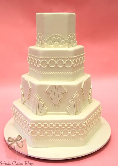 great-gatsby-wedding-cake-white