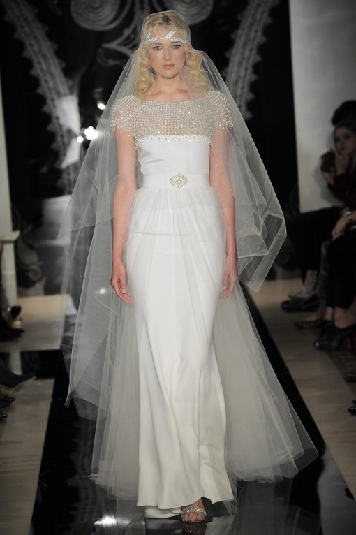 Great Gatsby Wedding Dress Reem Acra