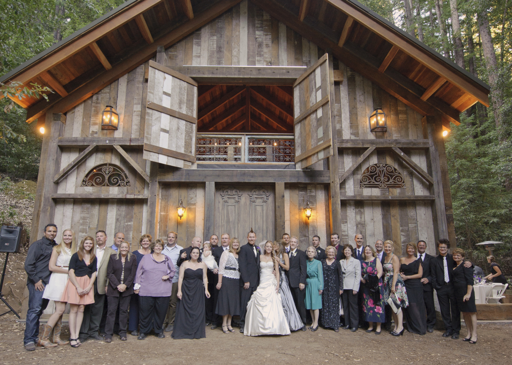 Barn wedding venues in california us211 for Best california wedding venues