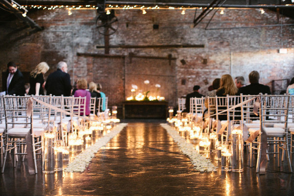 Wedding Aisle Decor Candles