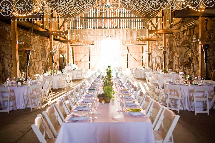 Barn wedding venues in california for Honeymoon locations in california