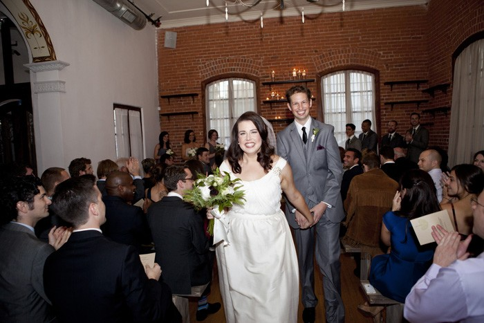 intimate-wedding-ceremony-recessional