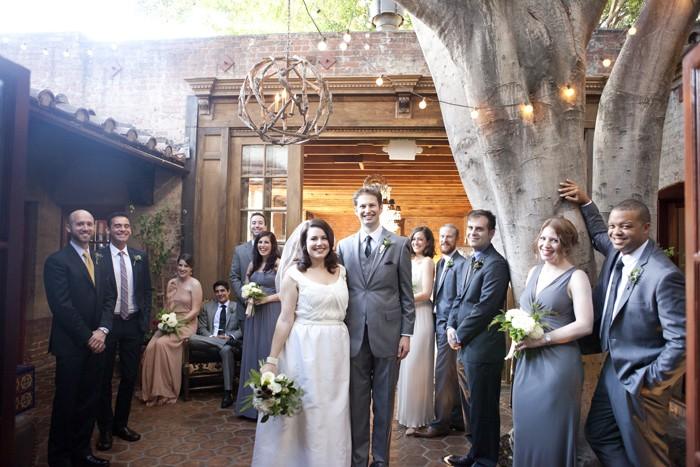 Intimate Los Angeles Wedding Christopher And Kristin