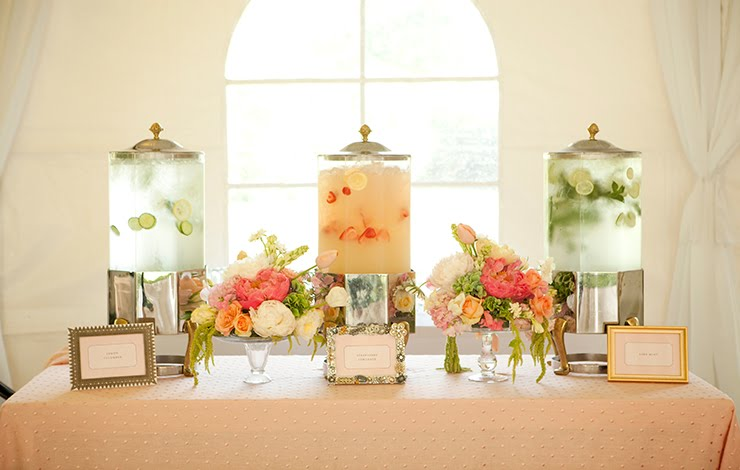 infused-water-station-weddings
