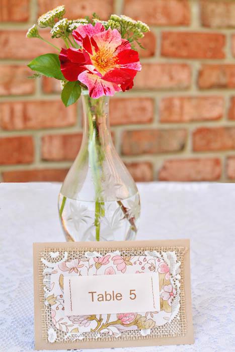 tablenumberflowerweb