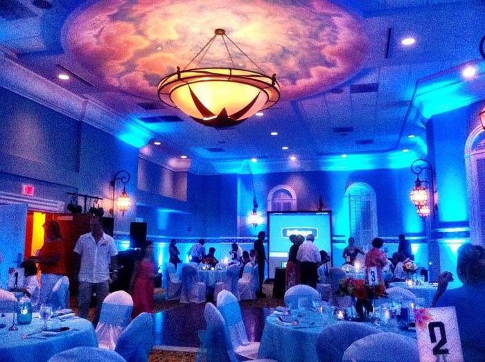 wedding lighting rental 1 uplighting