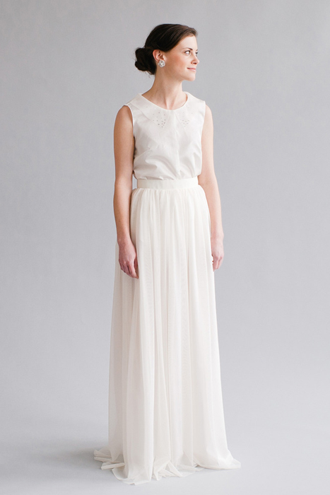 10 Great Elopement Dresses | Whitney Deal Skirt