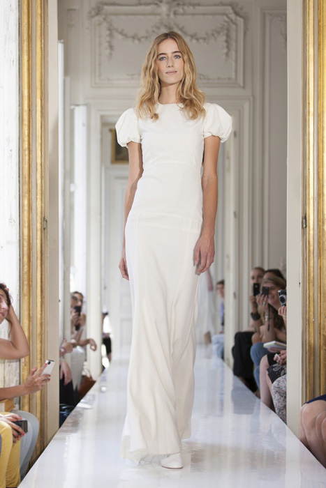 10 Great Elopement Dresses   Delphine Manivet Gown
