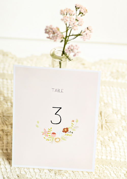 picture regarding Free Printable Table Numbers named Totally free Printable Desk Figures